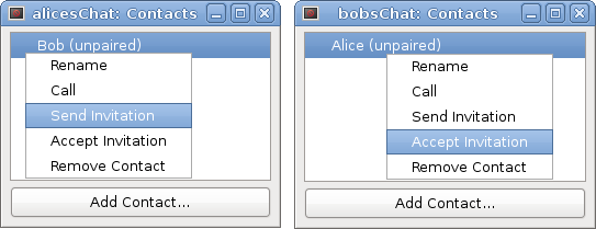 pairing chat instances